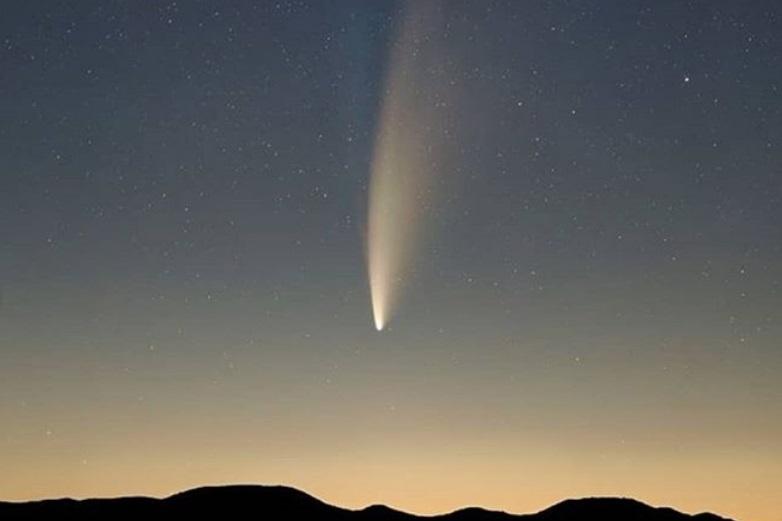 Cometa Neowise pode ser visto no Paraná nesta sexta-feira (24); saiba como!