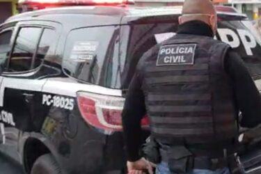 Polícia Civil prende homem que tentou matar adolescente em Piraquara