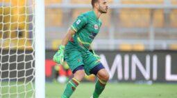 """Decisivo contra a Lazio, Gabriel celebra atuação do Lecce: """"Espírito fantástico"""""""