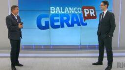 Guilherme Rivaroli se despede do Balanço Geral e assume comando do Paraná no Ar