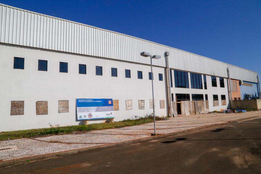 Barracão vai ser transformado em casa da inovação em Londrina