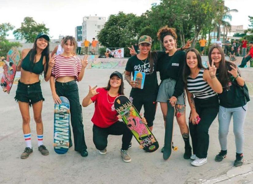 Mulheres do skate lutam pela igualdade e respeito