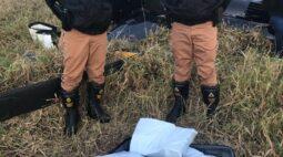 Após queda, polícia encontra mala com quase R$ 500 mil em helicóptero
