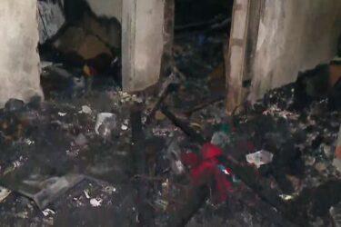 Homem morre ao tentar apagar incêndio de casa, em Colombo