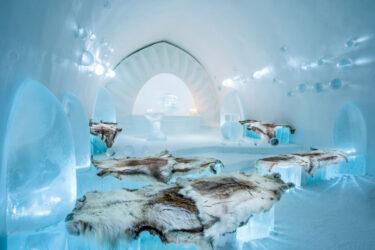 Um hotel feito de gelo: conheça o ICEHOTEL, na Suécia
