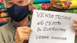 Homem de 91 anos pede ajuda para vender tecidos de loja e recebe pedidos de todo o Brasil
