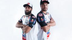Operário-PR apresenta os meias Marcelo e Pedro Ken