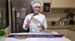 Receita do dia: Aprenda a fazer um pão de cenoura