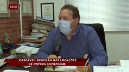 Redução nas locações de imóveis comerciais em Cascavel