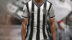 Atlético-MG apresenta oficialmente Keno, que assina por três temporadas