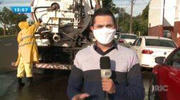 Combate ao coronavírus: Sanepar aumenta desinfecção em Londrina
