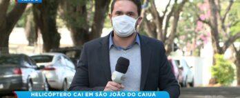 Helicóptero cai em São João do Caiuá: Quase meio milhão foram encontrados