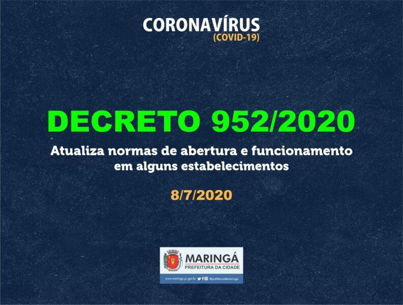 Prefeitura de Maringá volta atrás em medidas do novo decreto