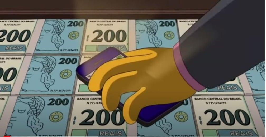 Você sabia que o Simpsons 'previu' nota de R$ 200 em episódio de 2014? Assista!
