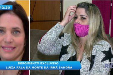 Caso Sandra: irmã da vítima fala com exclusividade ao BG