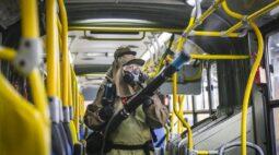 Ônibus de Curitiba vão ser higienizados pelo exército; veja como vai funcionar!