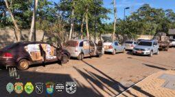 Operação Hórus: apreensões durante a madrugada em cidades próximo a fronteira são estimadas em R$ 10 milhões