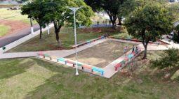 Praça do Sebastião de Melo é revitalizada em Londrina