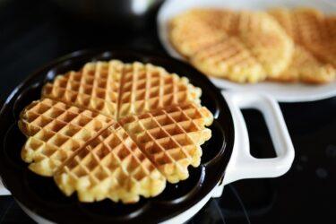 Receita de waffle tradicional simples e fácil