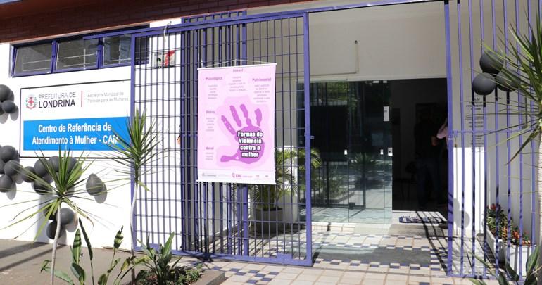 Sede do Centro de Atendimento à Mulher é inaugurada em Londrina