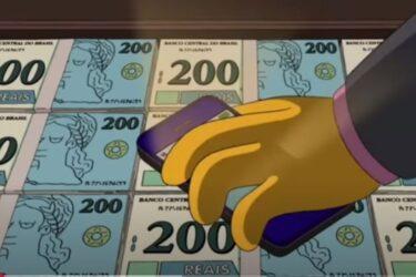 Simpsons previram que Brasil teria nota de R$ 200 em episódio de 2014