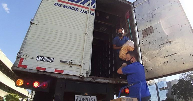 7 mil toneladas de alimentos serão distribuídos em Londrina