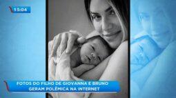 Fotos do filho de Giovanna Ewbank e Bruno Gagliasso geram polêmica na internet