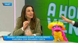 Leonardo rompe oficialmente parceria com Eduardo Costa