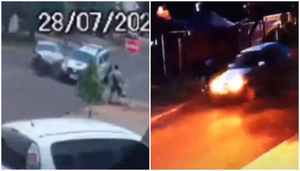 Homem escapa de dois acidentes em menos de 24 horas, em Cascavel