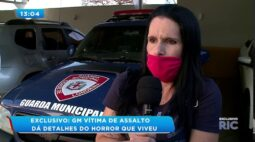 Guarda Municipal vítima de assalto diz que ladrões ameaçaram o filho do casal de 11 anos