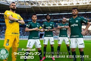 """Palmeiras aparecerá como """"São Paulo Barra Funda V"""" no game PES 2021"""
