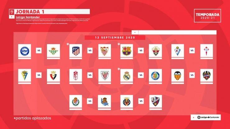 La Liga divulga calendário de 2020/21; Barça x Real será em outubro
