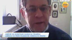 Agepar vai investigar causas da tragédia: agência vai pedir imagens de câmeras da região