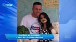 Mistério em Goioerê: Casal está desaparecido