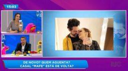 Maiara e Fernando Zor reatam namoro pela sexta vez