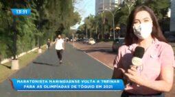 Maratonista maringaense volta a treinar para as Olimpíadas de Tóquio em 2021