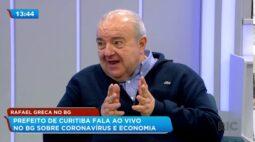Prefeito Rafael Greca lamenta morte de comandante da Guarda Municipal