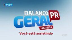 Balanço Geral Maringá Ao Vivo   12/08/2020