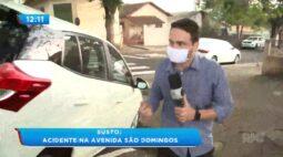 Susto: Acidente na Avenida São Domingos