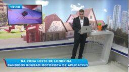 Bandidos roubam motorista de aplicativo na zona leste de Londrina
