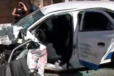 Acidente com carro da prefeitura deixa seis feridos em Colombo
