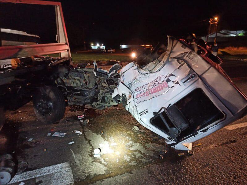 Acidente em Corbélia mata motorista de guincho na BR-369