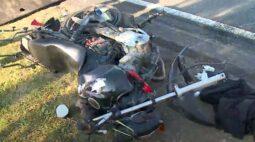 Acidente entre duas motos deixa vítima em estado gravíssimo na Avenida das Torres