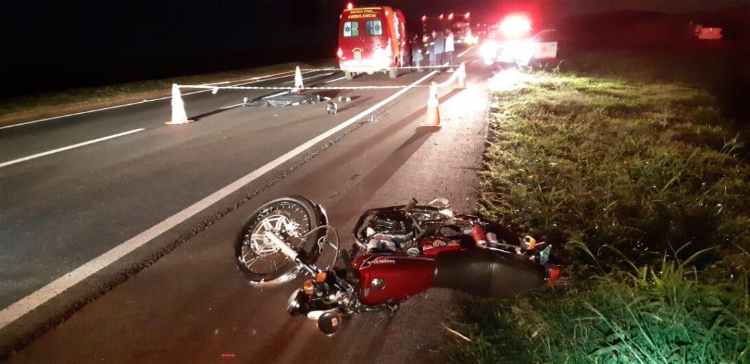 Adolescente morre em acidente na BR 376 em Marialva