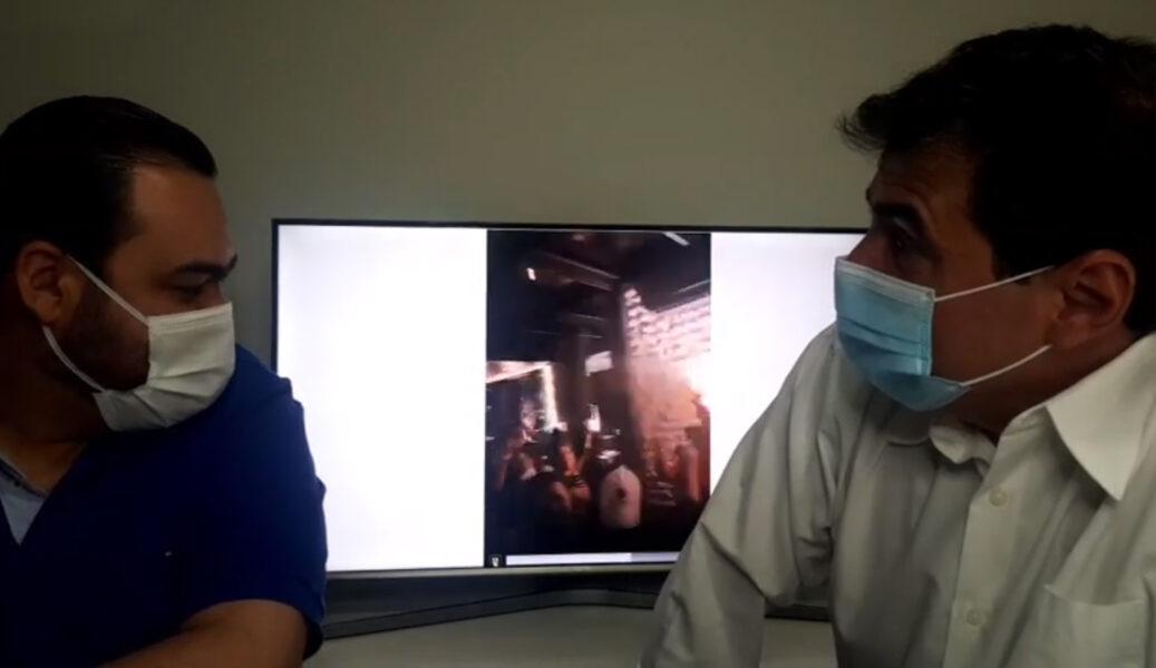 Em transmissão ao vivo: prefeito fala sobre surtos de Covid-19 em Londrina
