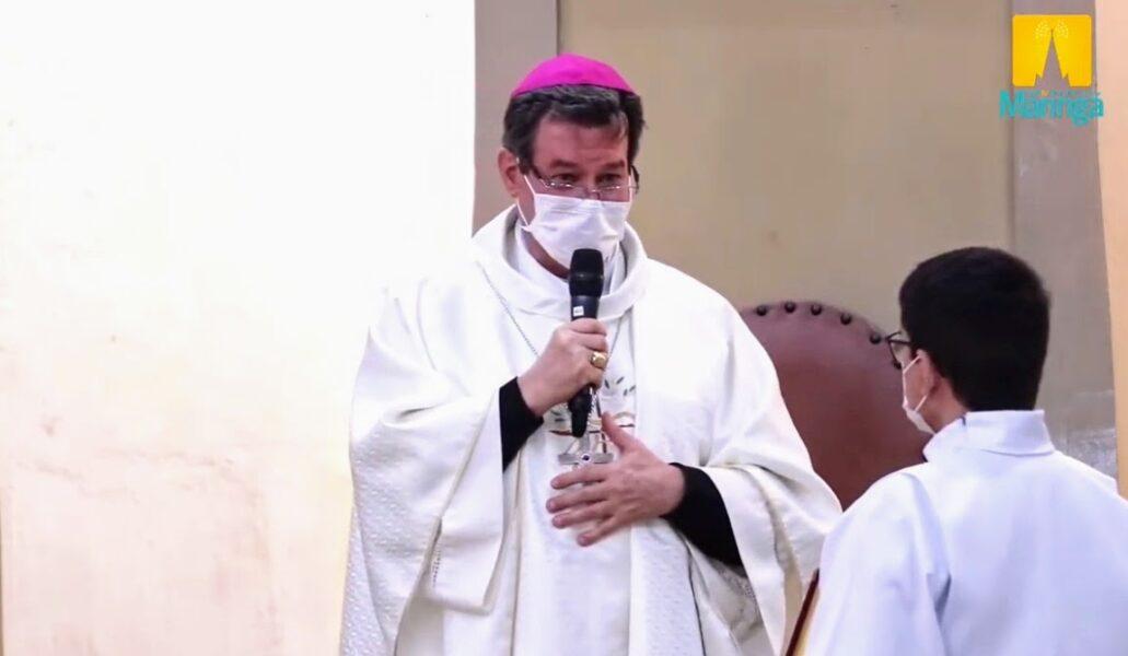 """Novo arcebispo de Maringá fala sobre política e igreja: """"Igreja não é palco para política"""""""