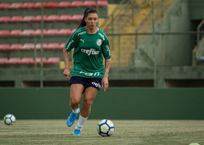 Bia Zaneratto se despede do Palmeiras e retorna ao futebol chinês