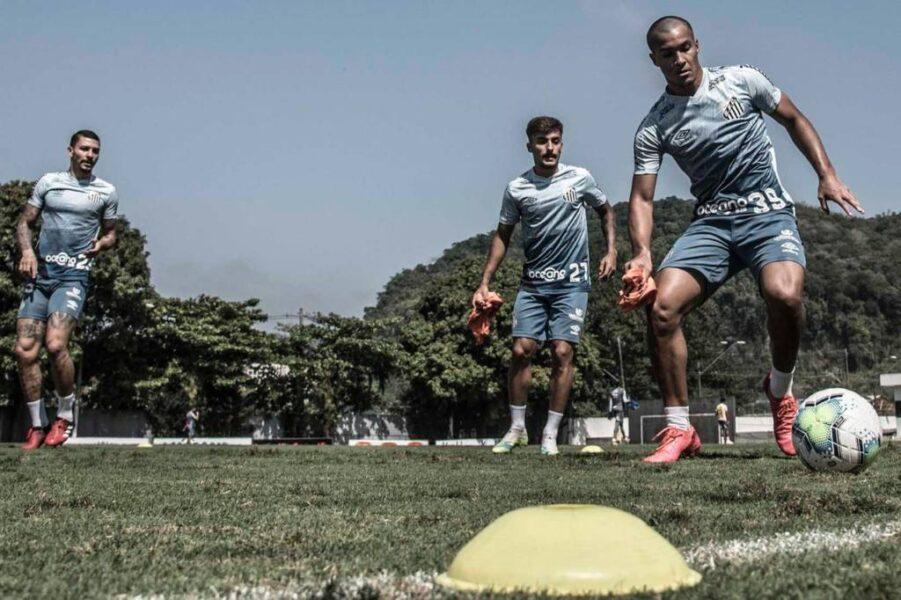 Jogadores do Santos testam negativo para covid-19