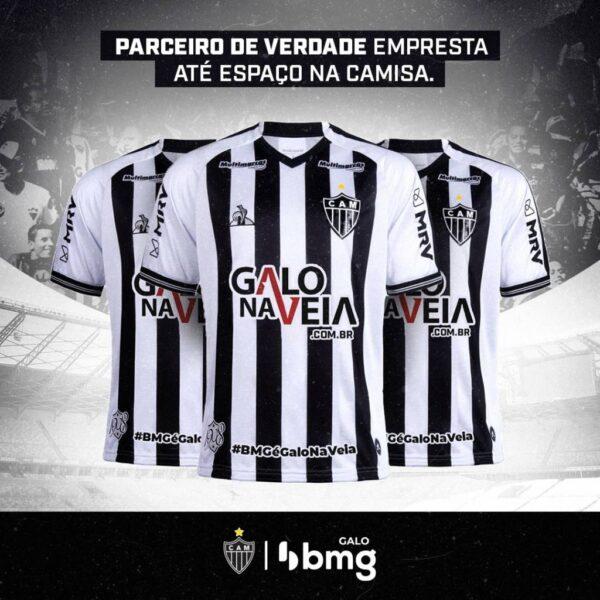 BMG cede espaço na camisa do Atlético-MG para a final do estadual