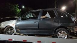 Com ferimentos na cabeça, motorista capota carro em Ibiporã
